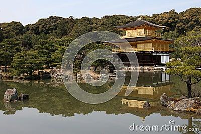 Wideshot of Deer-Garden Temple