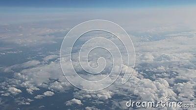 Widok chmury od above zbiory wideo