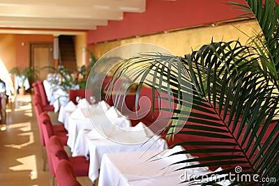 Widok restauracji