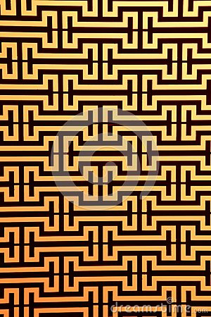Widows steel rod pattern
