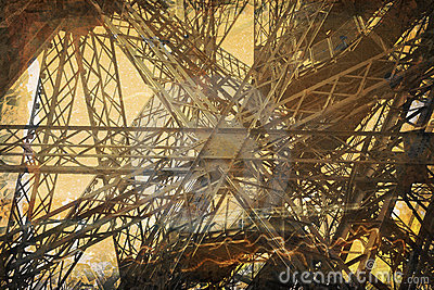 Wieża eiffel crunch