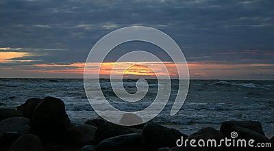 Wieczorem morze iv
