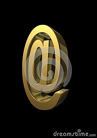 Wiedergabe 3D am Symbol