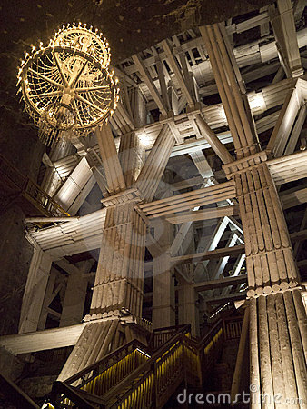 Wieliczka Salt Mine - Poland Editorial Image