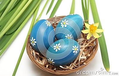 Wielkanoc gniazdo