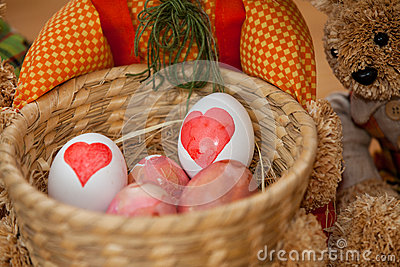 Wielkanocnego jajka barwiarstwo