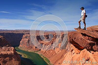 Wielki kanion z widokiem na