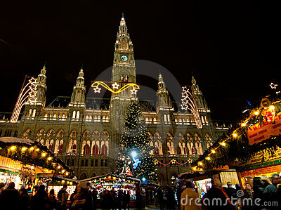 Wiener Rathaus Editorial Stock Image