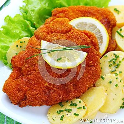 Free Wiener Schnitzel Stock Photos - 17412003