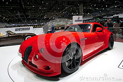 Wiesmann GT MF4-CS Editorial Photography