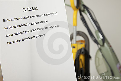 Wife s to do list