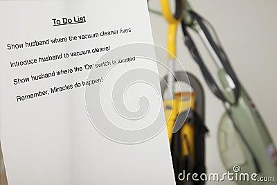 Wife s to do list