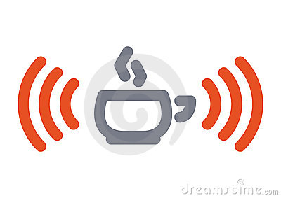 Wifi cup icon