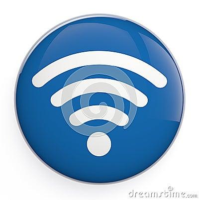 Free WiFi Icon Royalty Free Stock Image - 32066866