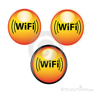 Wifi icons or buttons