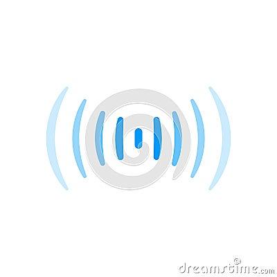Free Wifi Signal Connection Sound Radio Wave Logo Symbol Royalty Free Stock Photography - 88828587