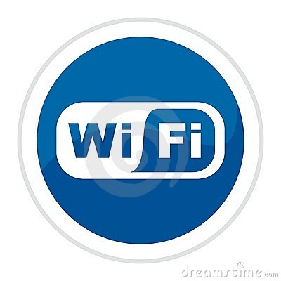Wifi Web Button Royalty Free Stock Photography - Image: 8598377