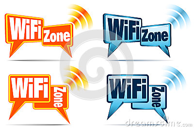 WiFi Zone Icons