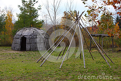 Wigwam & Structure of tepee