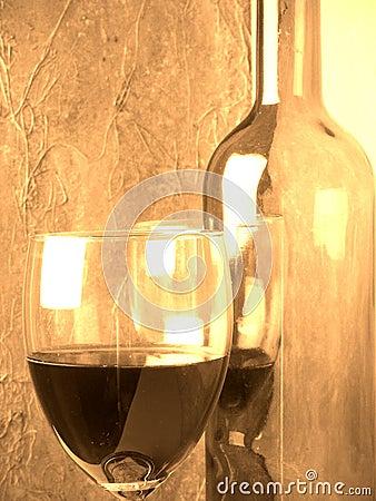 Wijn en glas