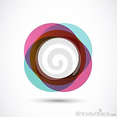 Wijnoogst gekleurde cirkel stock afbeelding beeld 30683081 - Wijnoogst ...