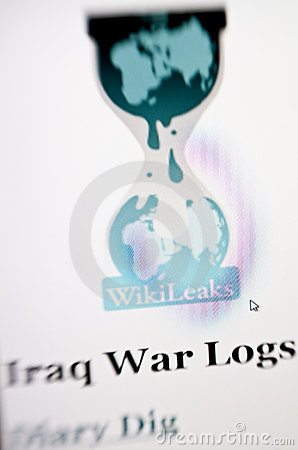 Wikileaks Editorial Stock Photo