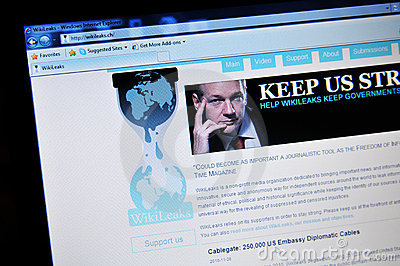 WikiLeaks Editorial Image