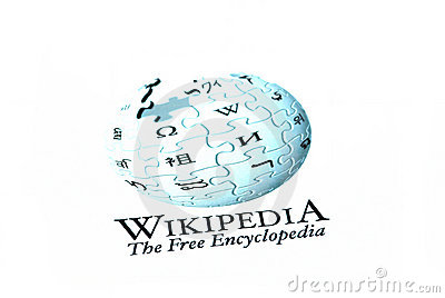 Wikipedia logo Editorial Image