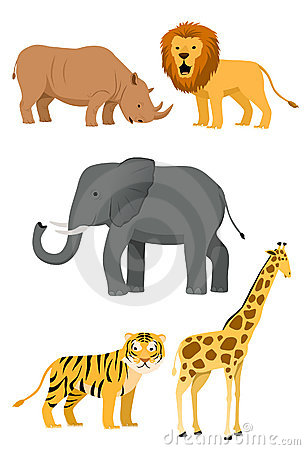 Wild Animals Icon Set #1