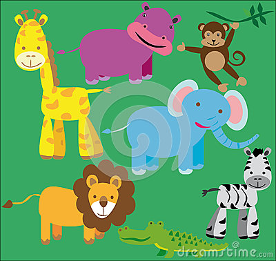Wild animals kit