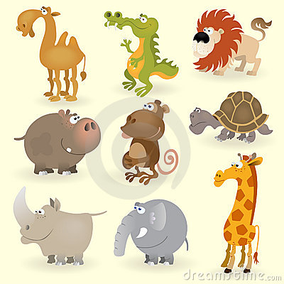 Wild animals set #1