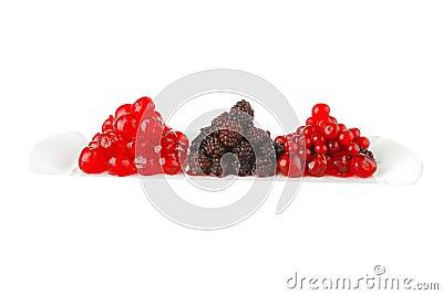 Wild berry and cherry