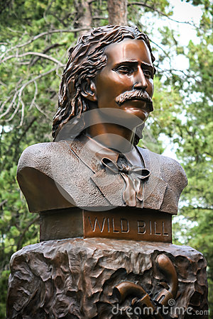 Free Wild Bill Hickok Grave Monument Stock Photography - 36887952