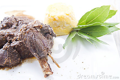 Wild boar dish
