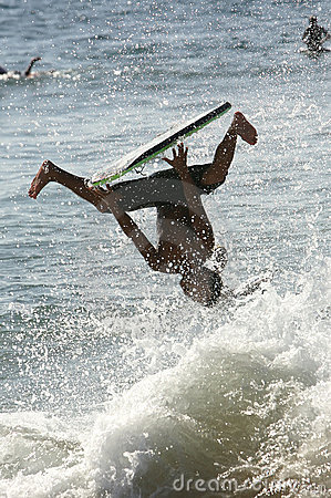 Free Wild Boogie Boarder Stock Images - 4826464