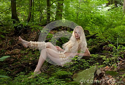 Wild Girl Stock Photos - Image: 15185543