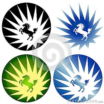 Wild Horse Logos