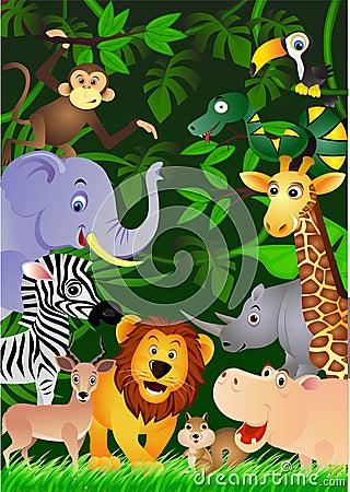 Wild life background