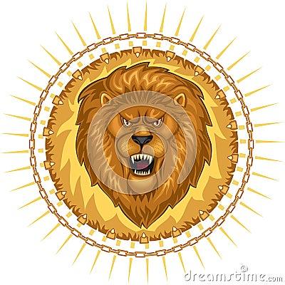 Wild Lion Emblem