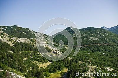 Wild rocky terrain