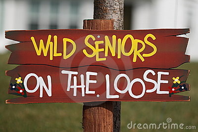 Wild Seniors on the Loose
