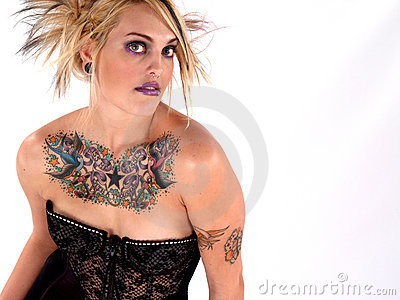 Wild Tattooed Beauty