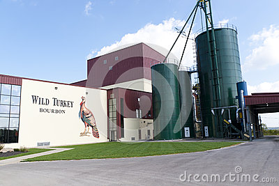 Wild Turkey Bourbon Distillery Editorial Stock Image