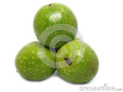 Wild wallnuts