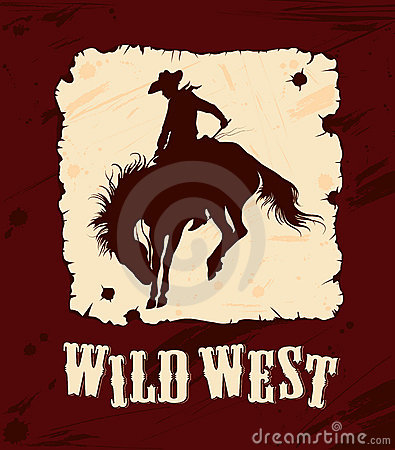 Wild west background