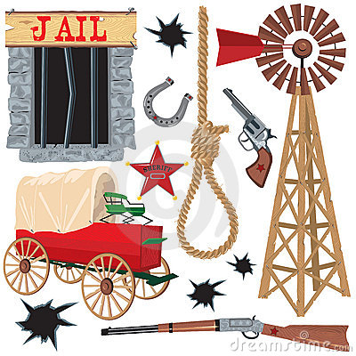 Free Wild West Clip Art Royalty Free Stock Images - 11097519