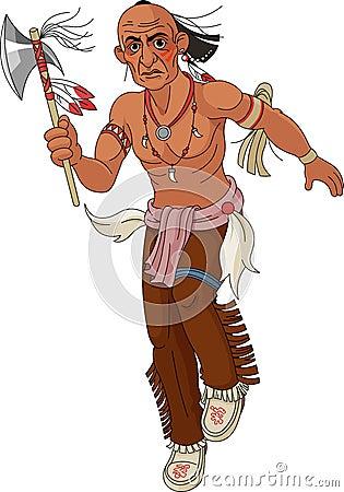 Wild west.  Indian