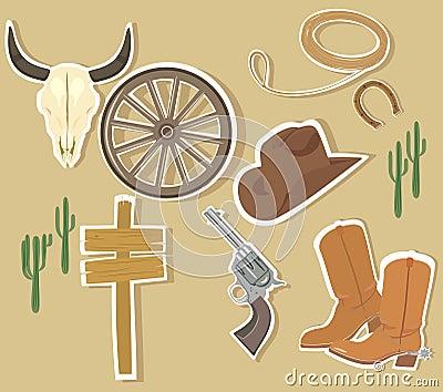 Wild West Western Elements