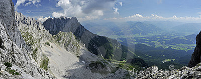 Wilder Kaiser in Austria