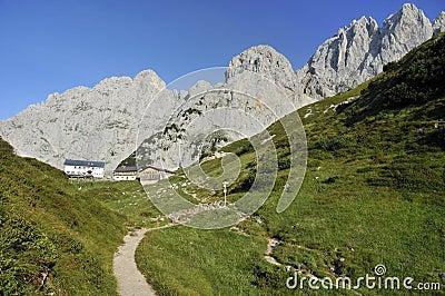 Wilder Kaiser in Austria